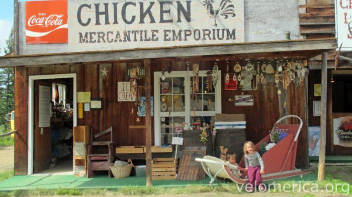 Mika & Marla in Chicken