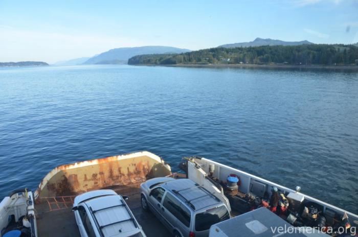 Überfahrt nach Alert Bay