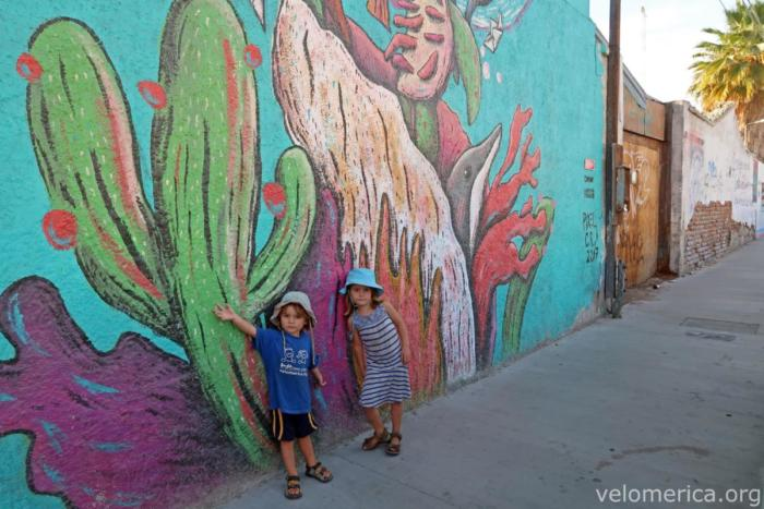 Mural en La Paz